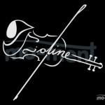 Violine, Kalligrafie