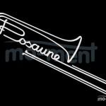 Kalligrafische Musikinstrumente