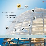 Screenshot Startseite lektorat-pastermak.de